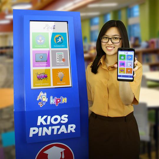 Baca 2500+ buku pelajaran sekolah tanpa kuota di KIPIN ATM