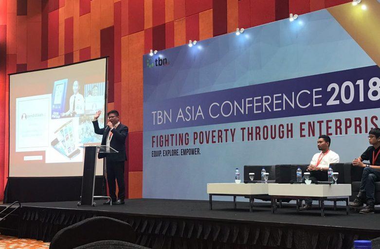 Pendidikan.id di TBN ASIA Conference 2018: Lawan Kemiskinan Melalui Pendidikan Berbasis Teknologi Digital