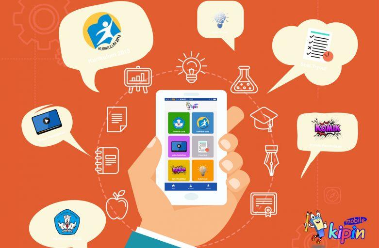 KIPIN Mobile, Aplikasi Belajar Praktis Bagi Generasi Milenial via Smartphone, Tablet atau Laptop