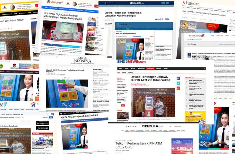 Media Antusias Menyambut Peluncuran KIPIN ATM 2.0, Edutech Bagi Guru dan Siswa untuk Peroleh Ribuan Materi Pelajaran Secara Gratis