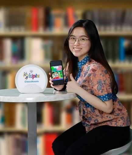 Kipin Classroom : sebuah access point pembelajaran berupa sistem (hardware, software dan data lengkap) untuk membantu Digitalisasi Sekolah di Indonesia tanpa membutuhkan jaringan internet
